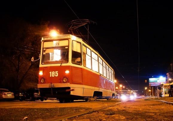 Фото трамвая в Саратове