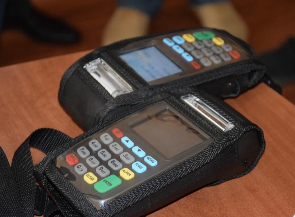 Терминалы для банковских карт