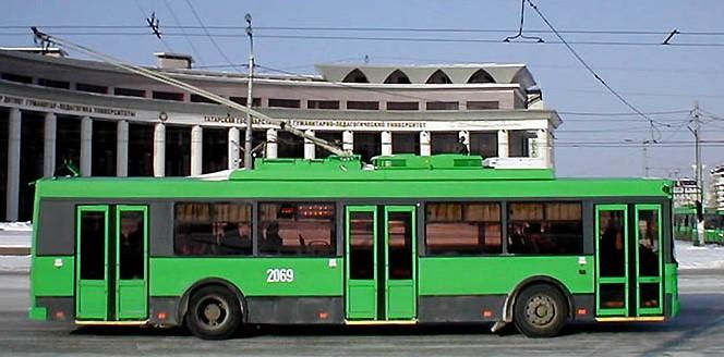 Казанский троллейбус