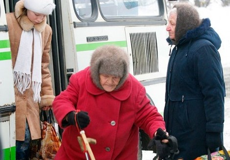 Пенсионеры Саратова