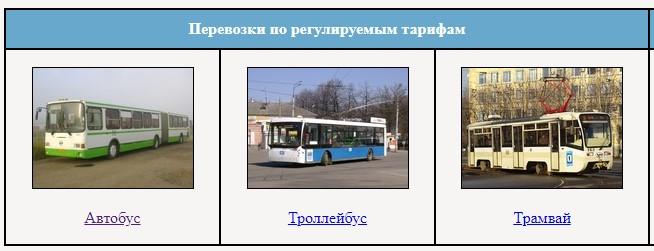 Виды транспорта в Ярославле